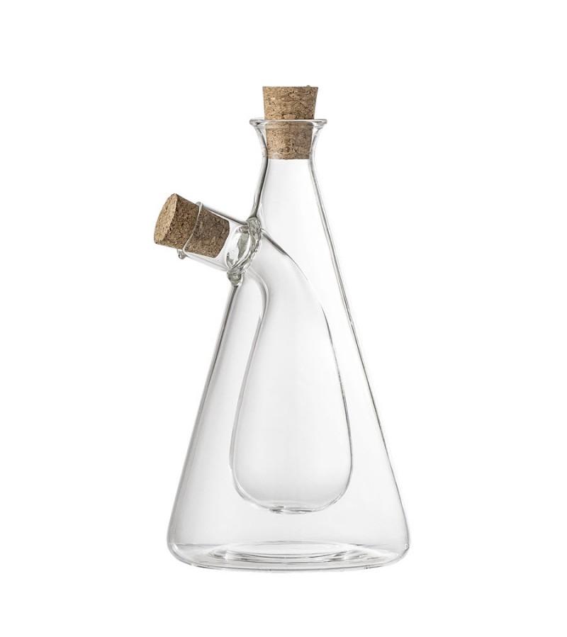 Sticla pentru otet si ulei cu dop de pluta