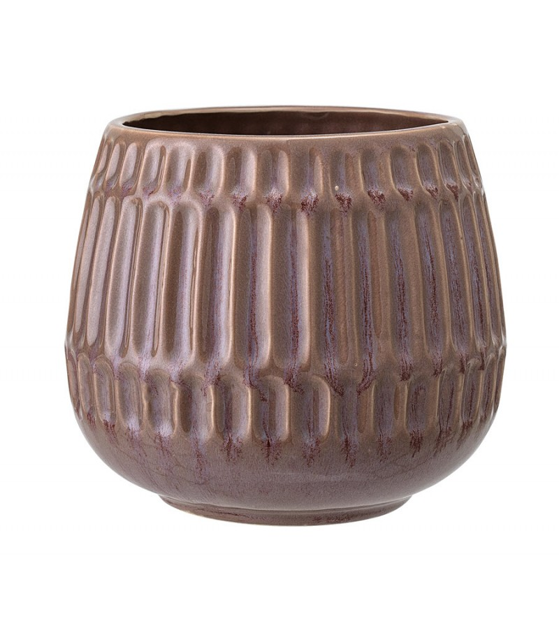 Ghiveci maro din ceramica Bloomingville
