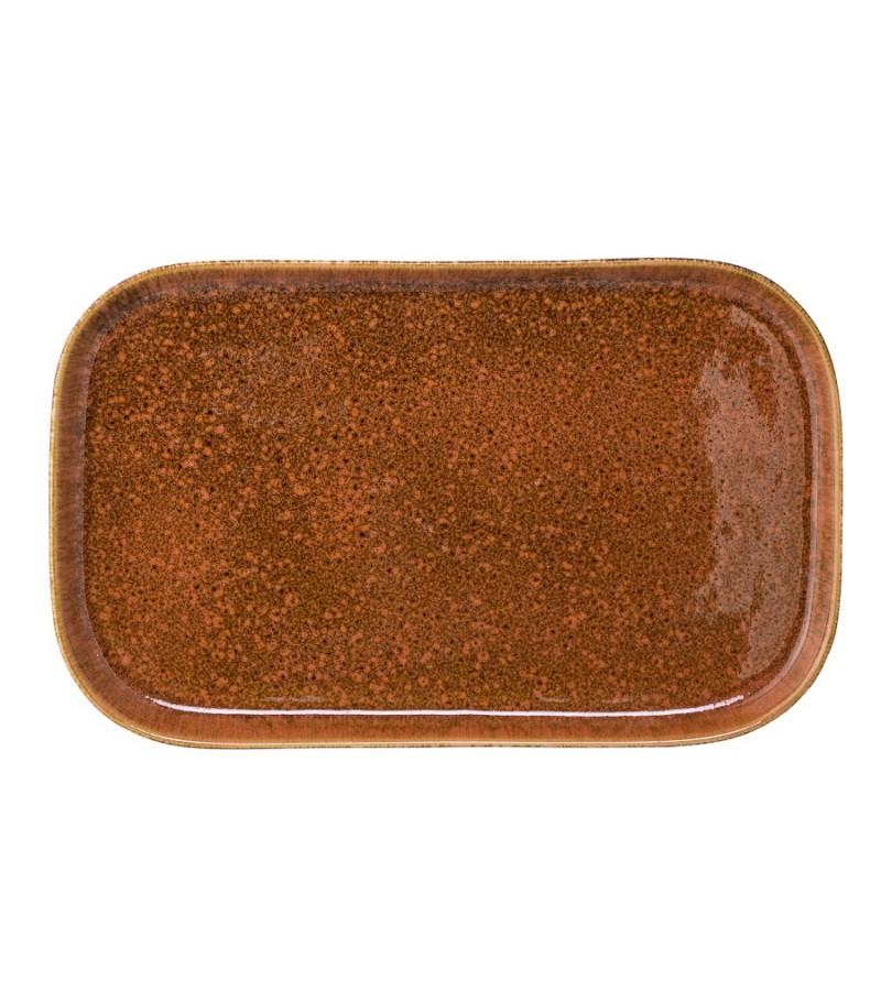 Tava orange 36 cm ceramica Bloomingville