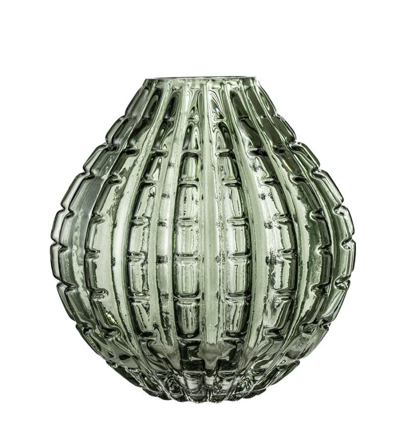 Vaza verde din sticla H17 cm Bloomingville