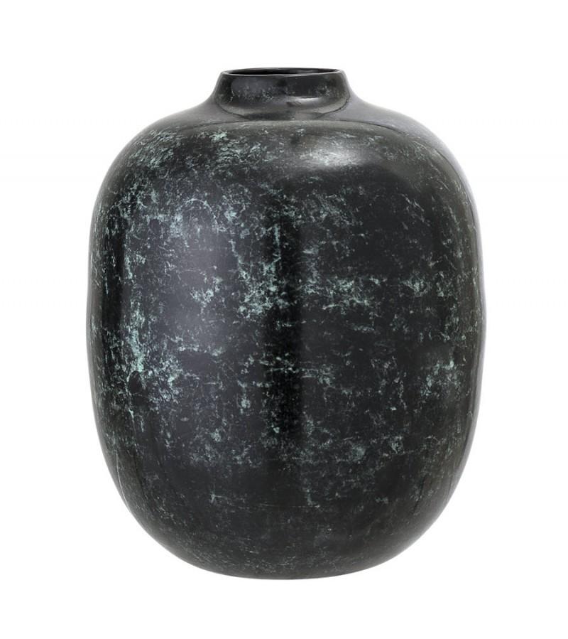 Vaza verde metalica H25 cm Bloomingville