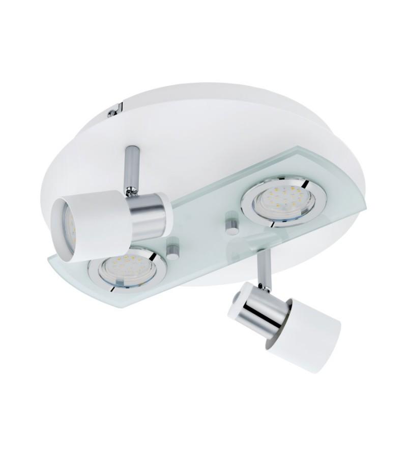 Aplica LED Pawedo, Eglo, Alb, 32002