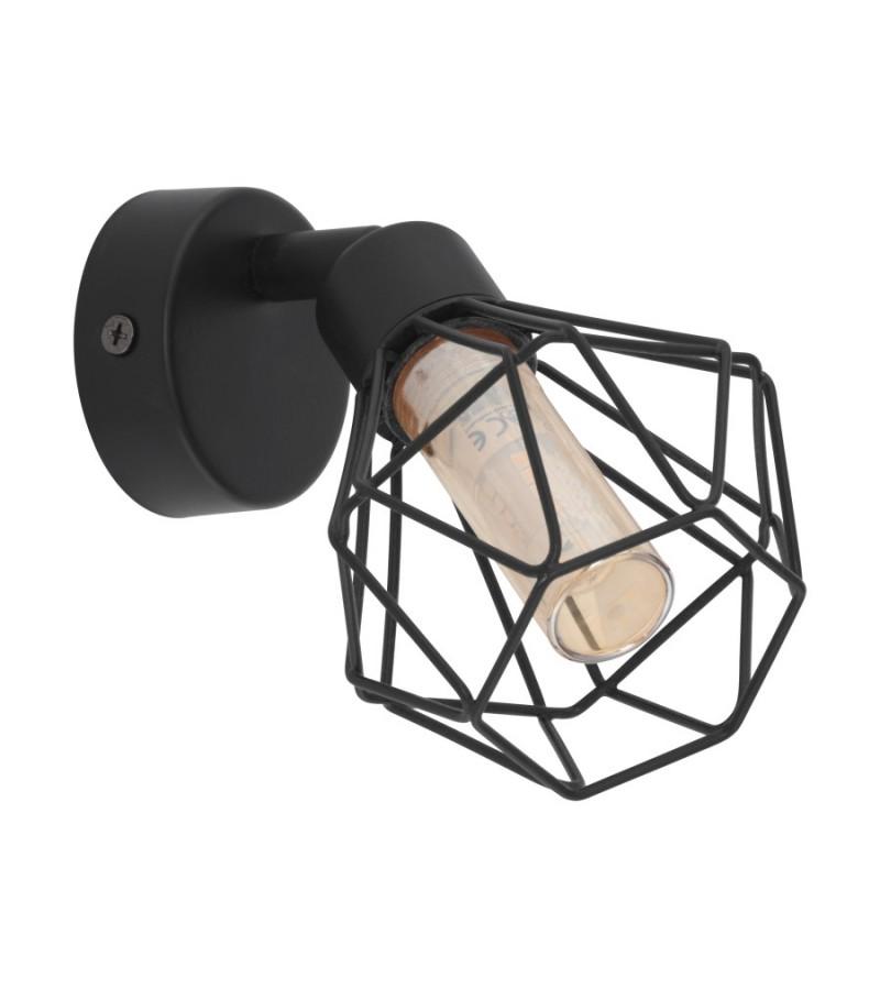 Aplica LED Zapata, Eglo, Negru, 32765