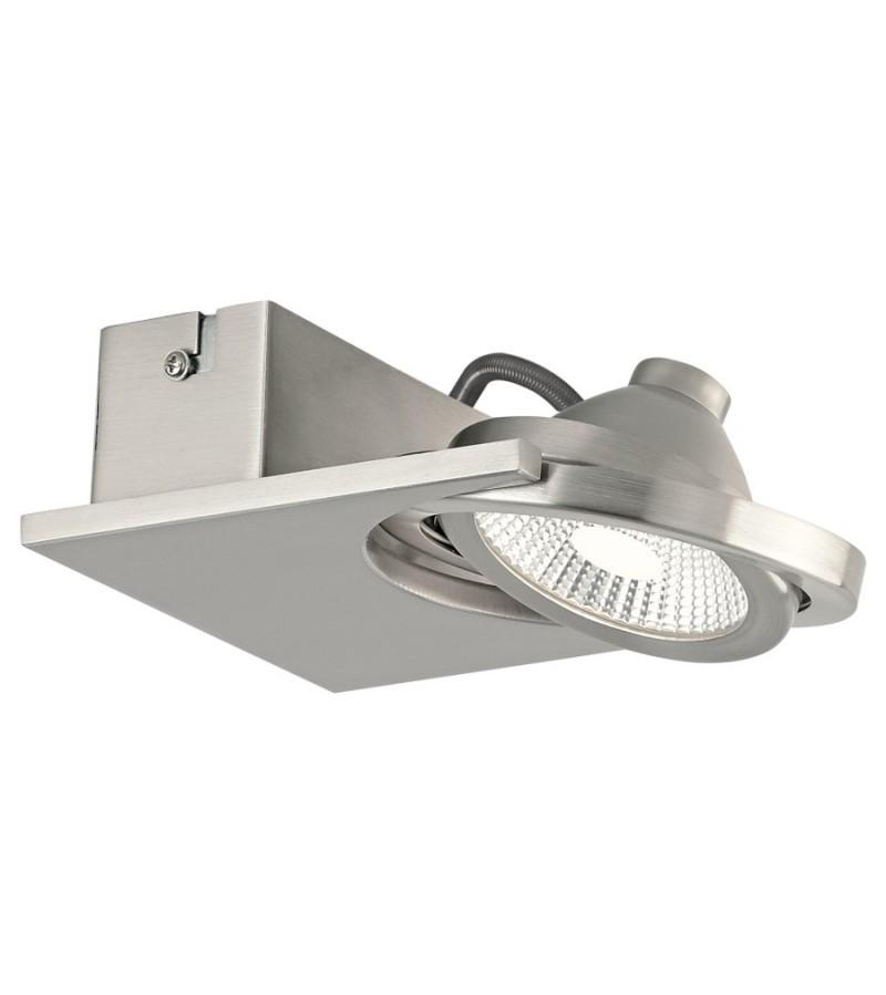 Aplica spot LED Brea, Eglo, Nichel, 39247