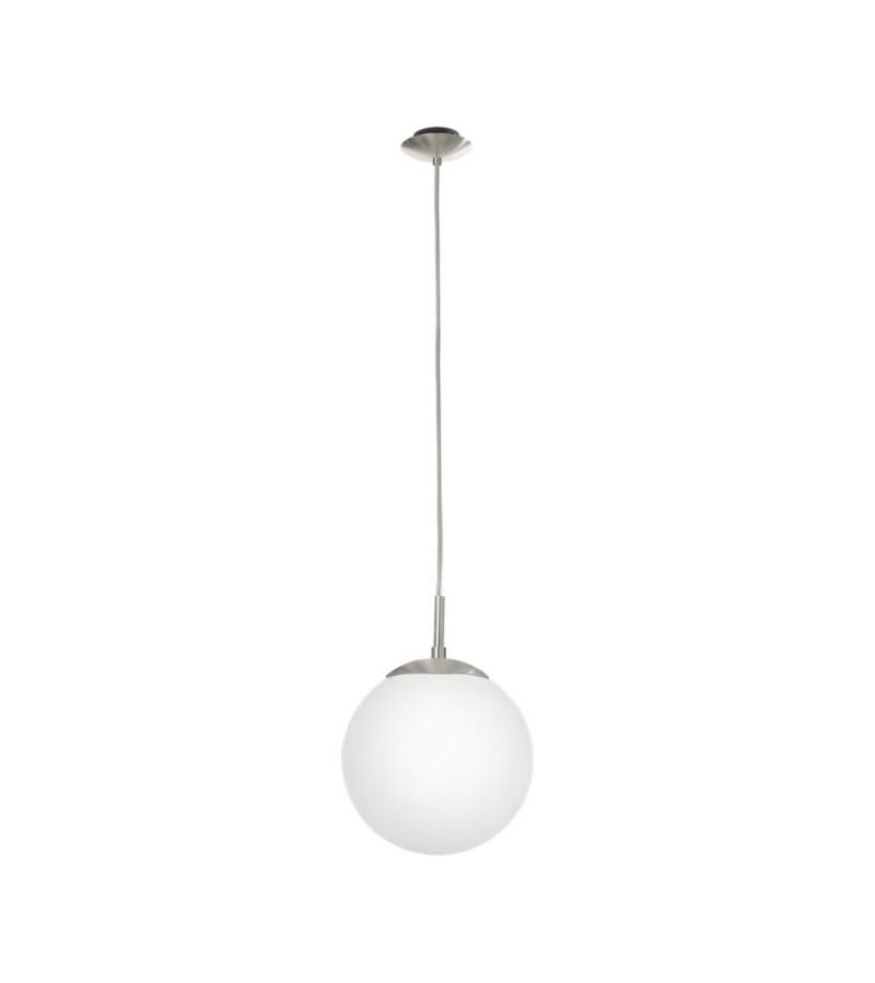Pendul D20 cm Rondo, Eglo, Alb, 85621