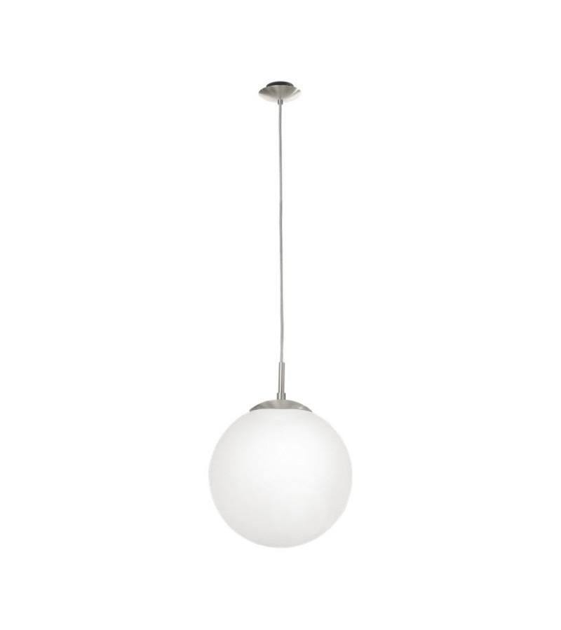 Pendul D25 cm Rondo, Eglo, Alb, 85262