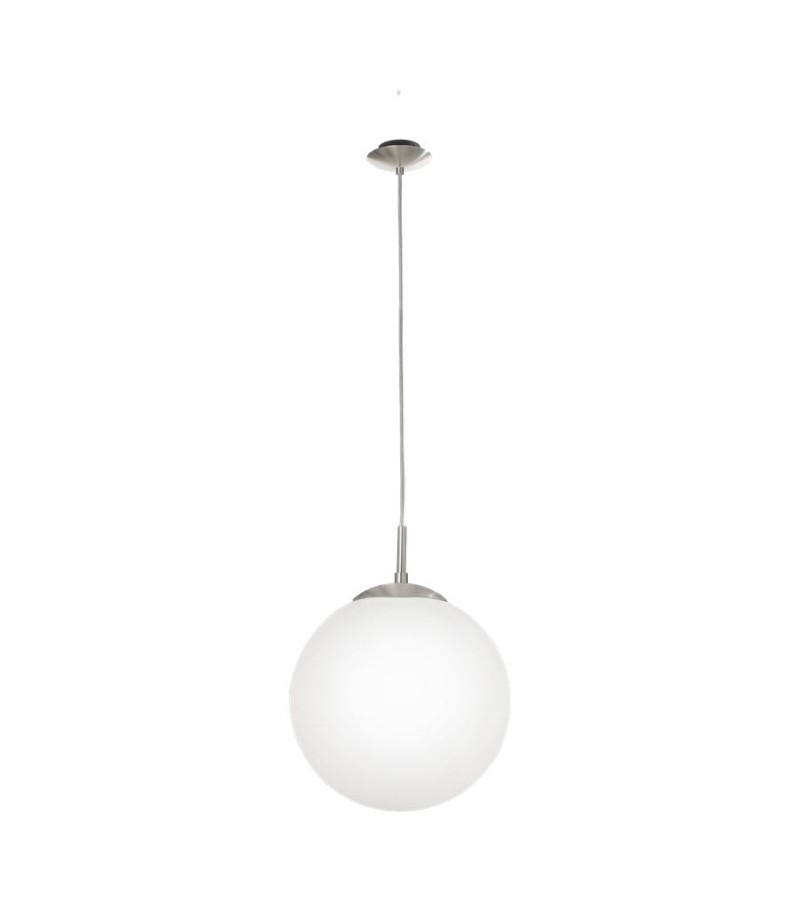 Pendul D30 cm Rondo, Eglo, Alb, 85263