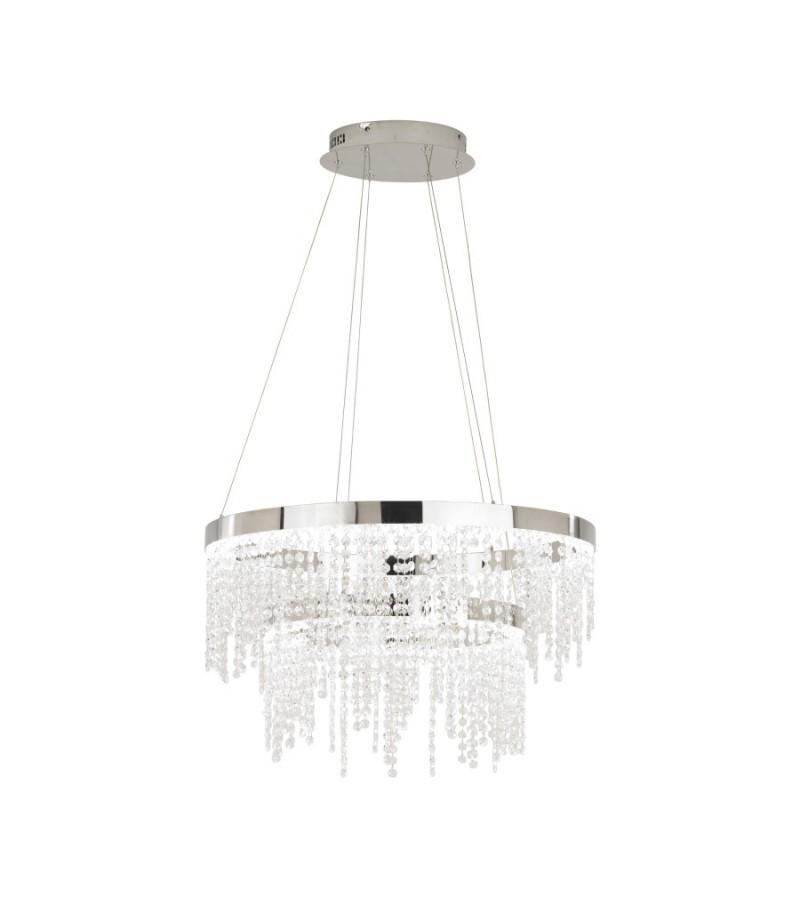 Pendul LED Antelao, Eglo, Crom, 39281