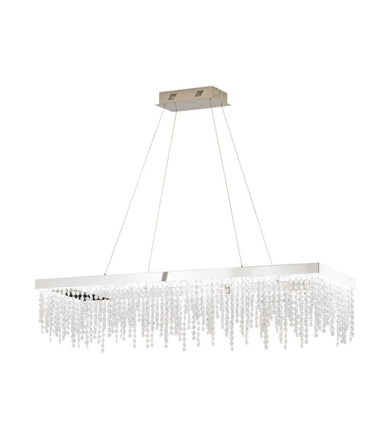 Pendul LED Antelao, Eglo, Crom, 39283