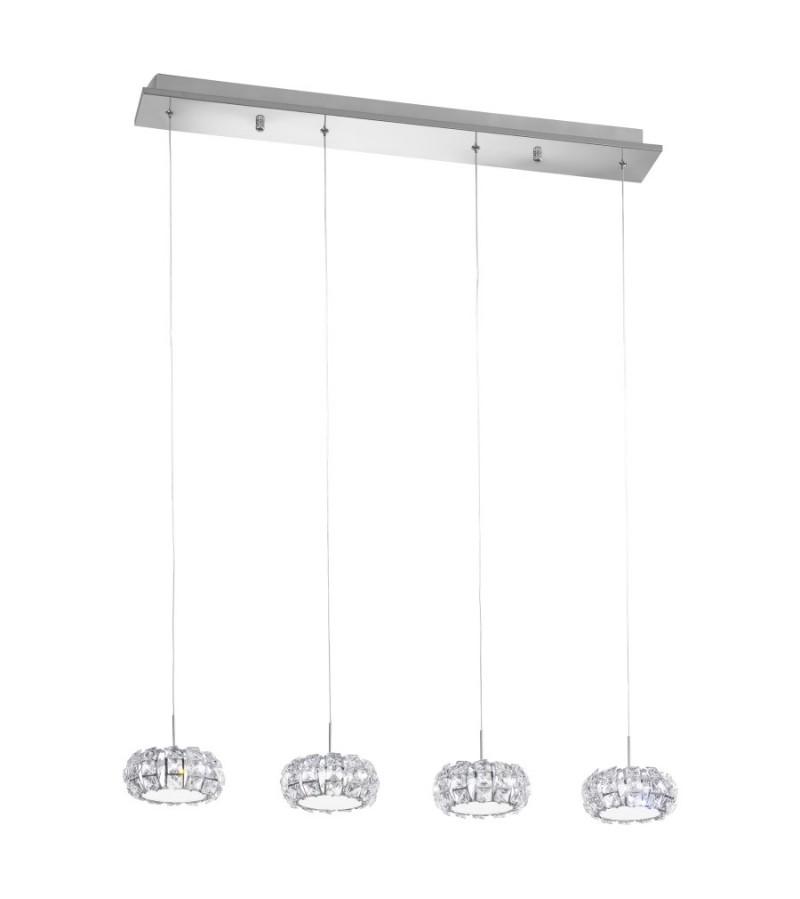 Pendul LED Corliano, Eglo, Crom, 39007