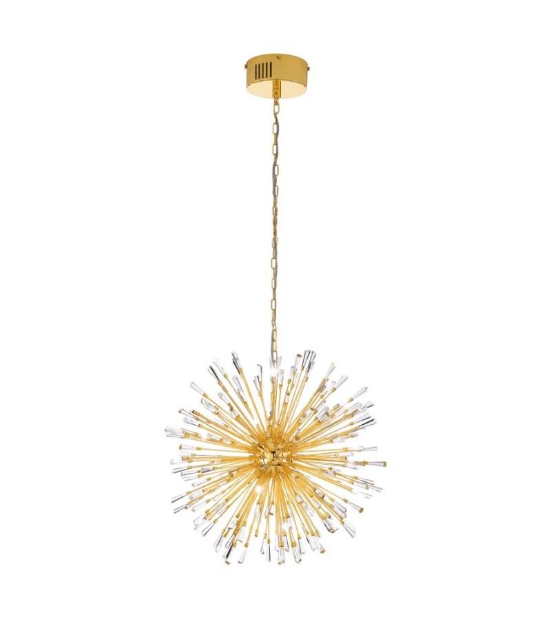 Pendul Vivaldo LED, Eglo, Auriu, 39255