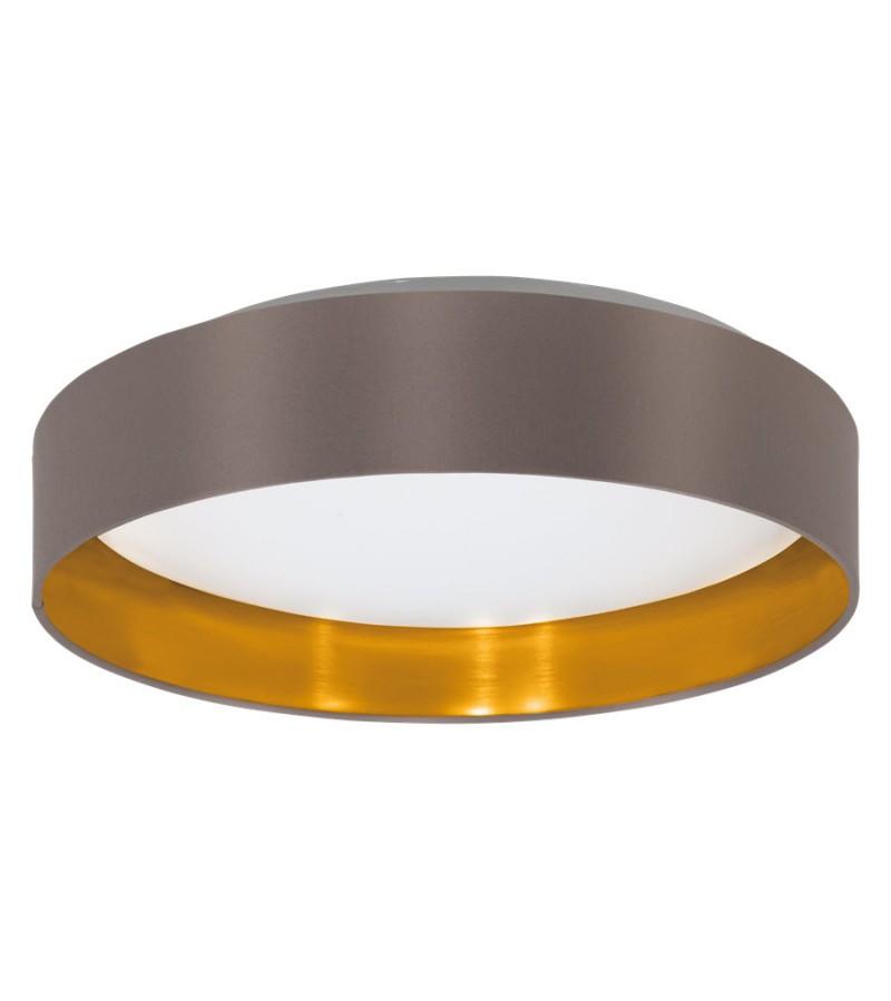 Plafoniera LED 16W Maserlo, Eglo, Cappuccino, 31625