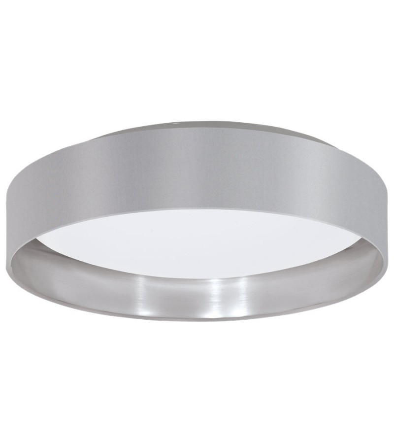 Plafoniera LED 16W Maserlo, Eglo, Gri, 31623