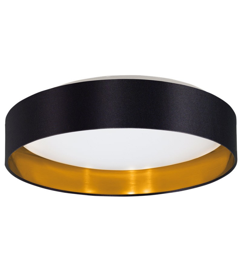Plafoniera LED 18W Maserlo, Eglo, Negru, 31622