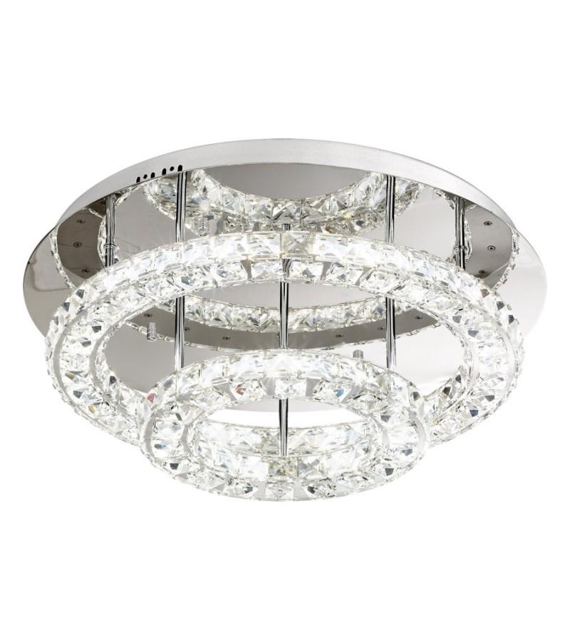 Plafoniera LED 36W Toneria, Eglo, Crom, 39003