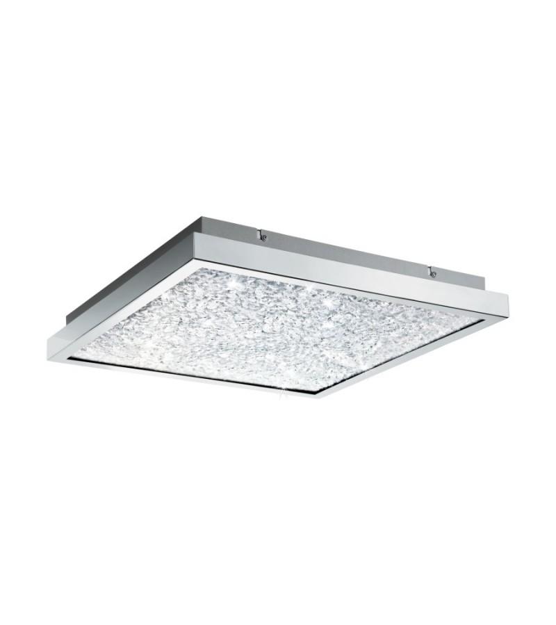 Plafoniera LED 44 cm Cardito, Eglo, Crom, 32026