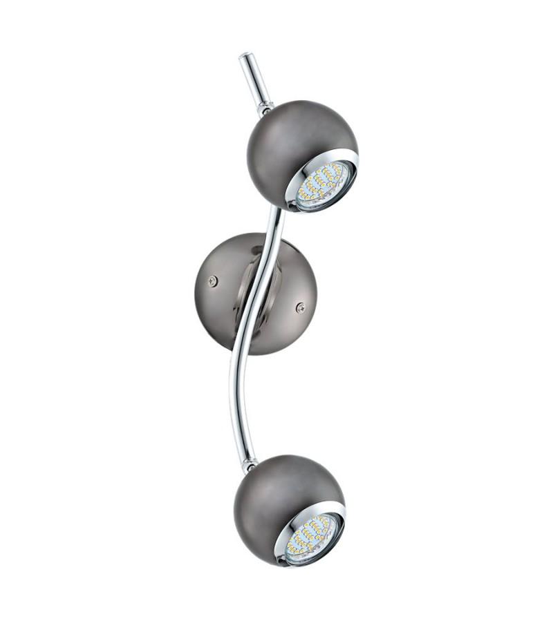 Plafoniera LED Bimeda, Eglo, Negru, 31006