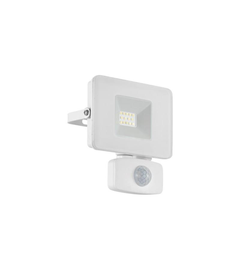 Proiector LED cu senzor de miscare Faedo, Eglo, Alb, 33156