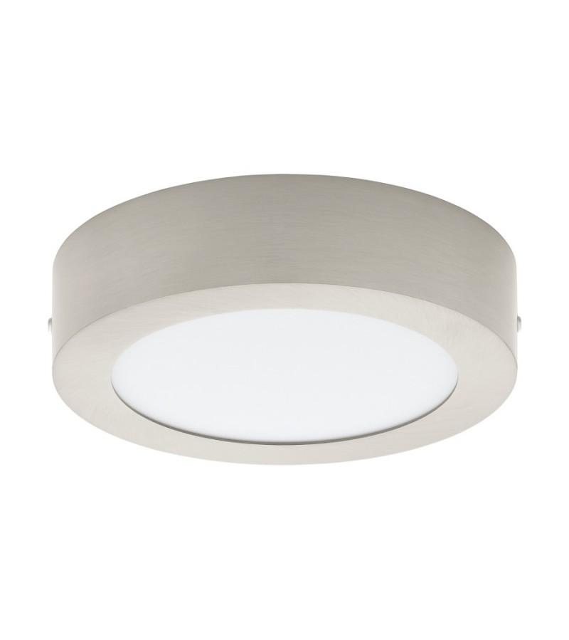 Spot LED aplicat Fueva, Eglo, Nichel, 32441