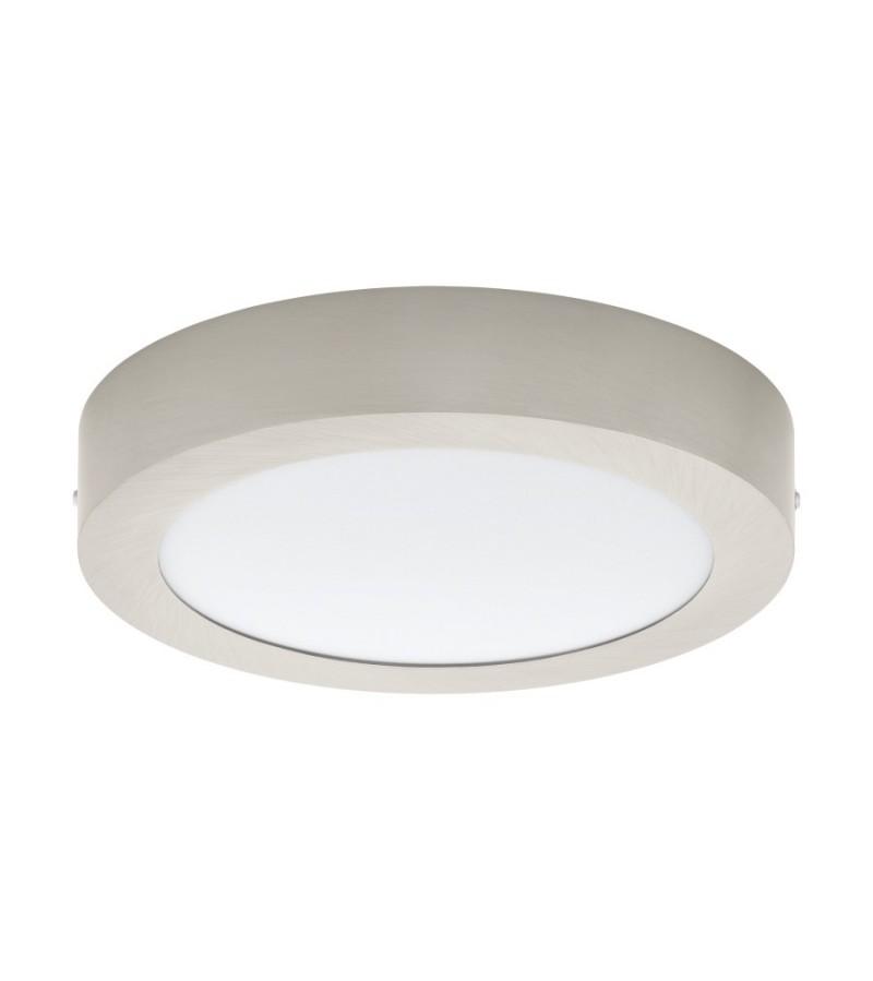Spot LED aplicat Fueva, Eglo, Nichel, 32442
