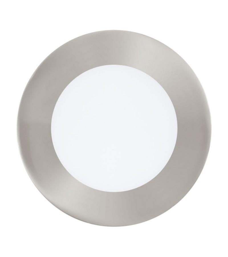 Spot LED incastrat Fueva Connect, Eglo, Nichel, 32753